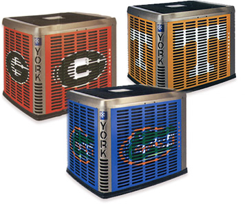 Trane's College Logo AC Units